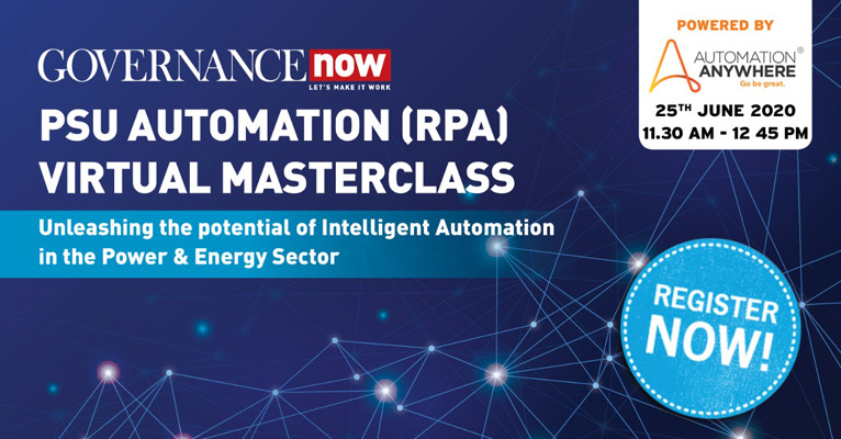 ​​​​Governance Now PSU Automation (RPA) Masterclass